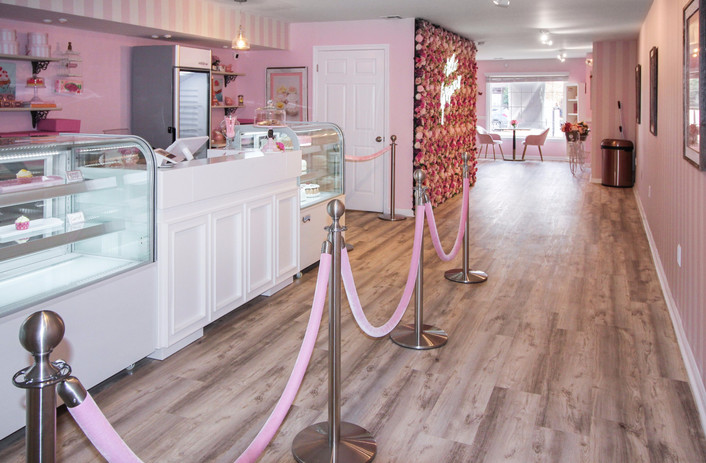 Beautiful Interior Design at Pinkies