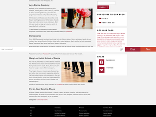 DANCEWORKS LISTED AMONG THE BEST DANCE STUDIOS NEAR PARSIPPANY NJ