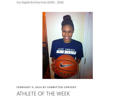 ATHLETE OF THE WEEK HANNAH JOHNSON