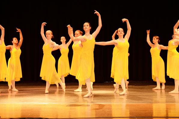 dancers learn proper technique
