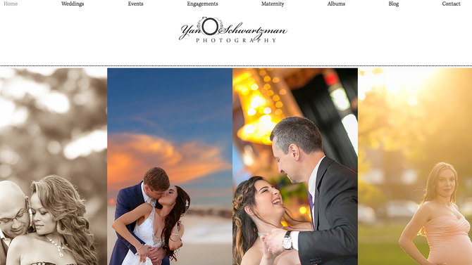 Our New Photography Website Design