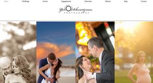 website design for photographer nj