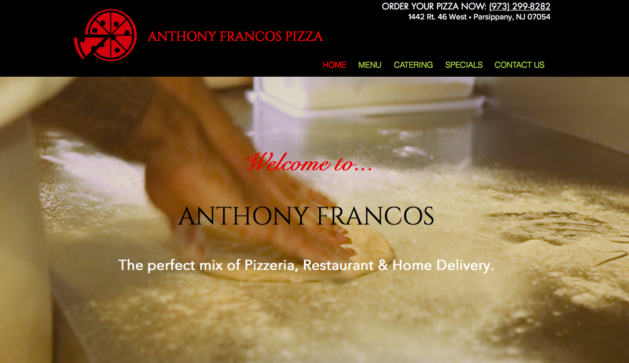 Website w/integrated Restaurant APP