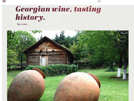 Batono Wine Featured on Winemaker