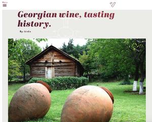Georgian Wine Batono in US