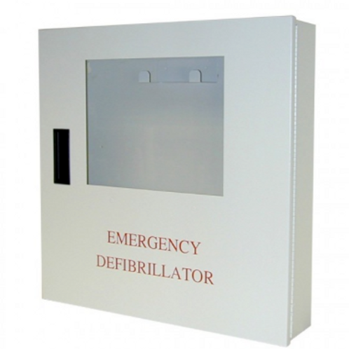 AED Wall Cabinet with Alarm for Defibtech AEDs