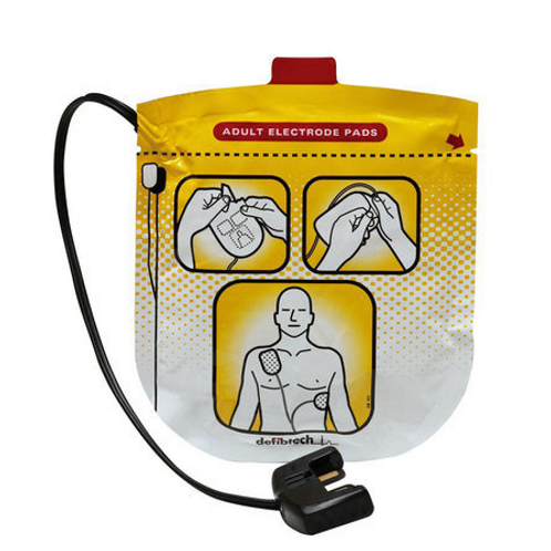 Adult Defibrillation Pads for Lifeline VIEW, ECG, & PRO