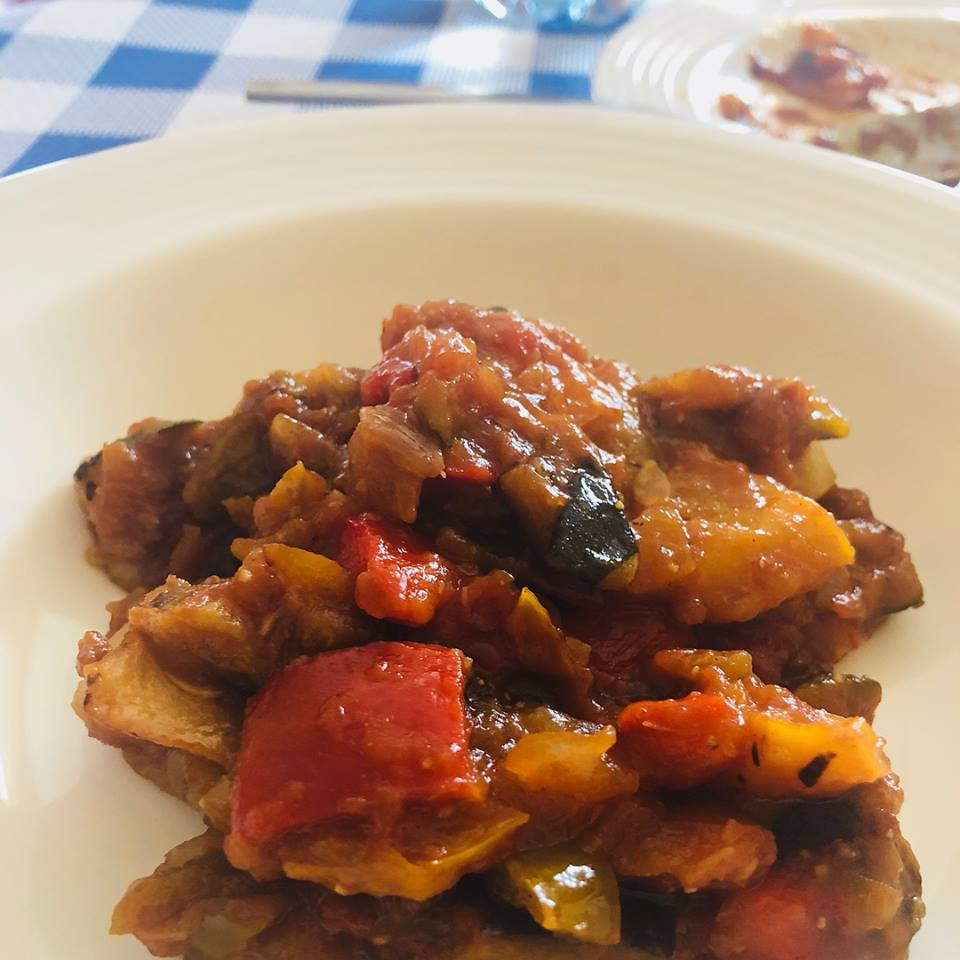 Home cooked ratatouille