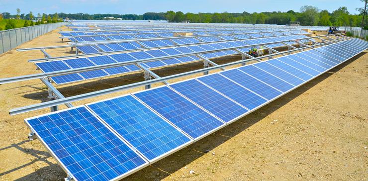 Solar Farms in Tinton Falls New Jersey