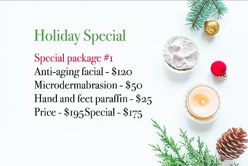 Holiday Special Package #1