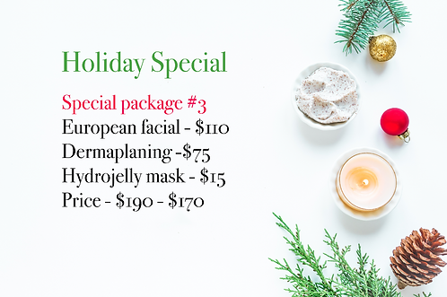 Holiday Special Package #3