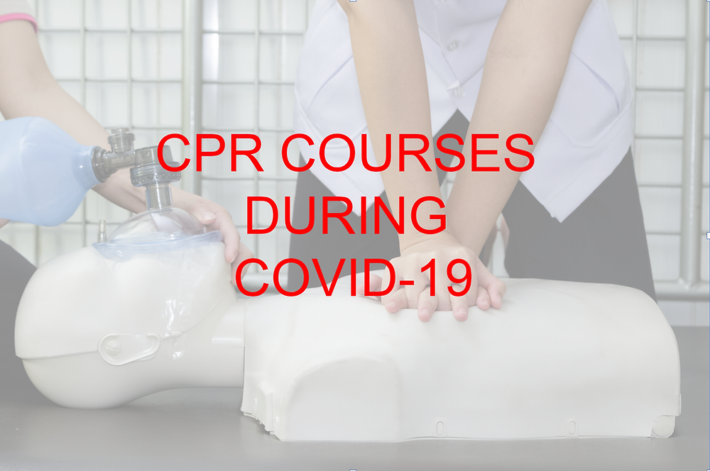 CPR Courses during Covid-19