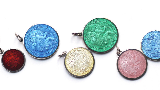 St Christopher Pendants