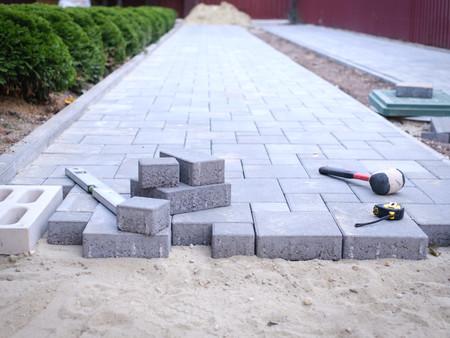 paving stones pathway