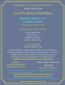 Pro Bono Immigration Attorneys Celebration in New Jersey