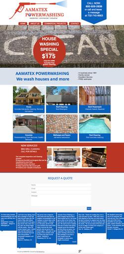 Aamatex Website Design