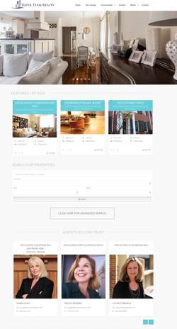Website Design River Team Realty