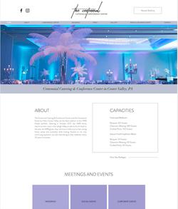 Website Design for Event Space