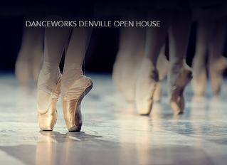 Danceworks Open House & Free Dance Classes This Saturday, September 9th