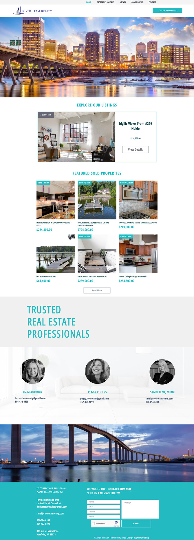 New Website for Real Estate Company