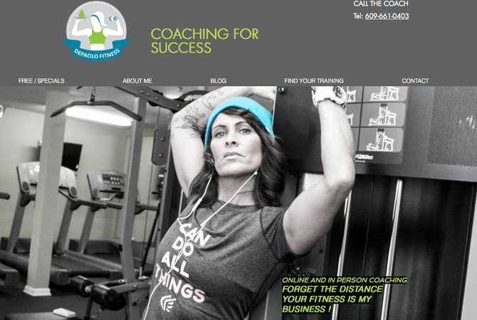 New Website for Depaolo Fitness
