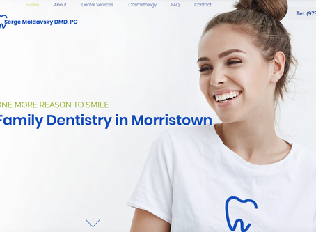 Website Design for Dental Office in Morristown, New Jersey