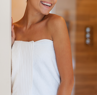 happy-woman-after-taking-shower-X7329WA_