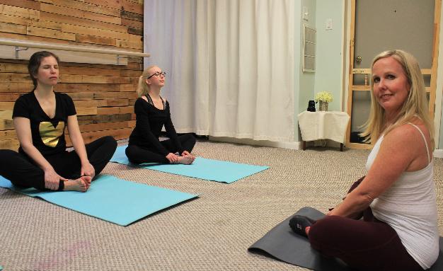 yoga class Linwood