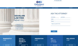 Odunlami Law Firm Website for attorney in New Jersey
