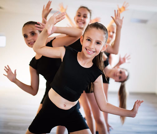 group-of-fit-happy-children-exercising-b