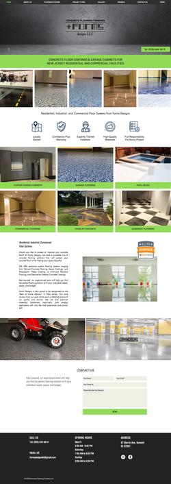 Forms Designs Website Design