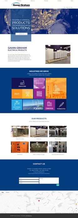 Gavan Graham Website Design