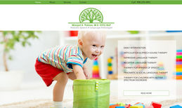 Speech Therapist Website