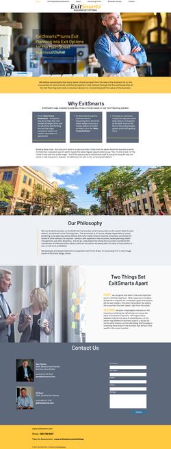 ExitSmarts Company Website
