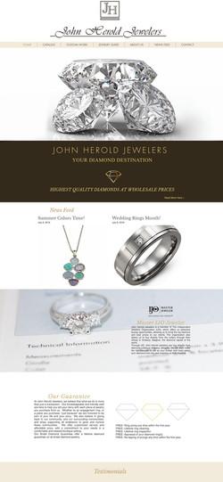 John Herold Jewelers Website