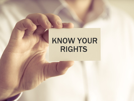 KNOW YOUR RIGHTS. What to do when U.S. Immigration and Custom Enforcement Comes Knocking