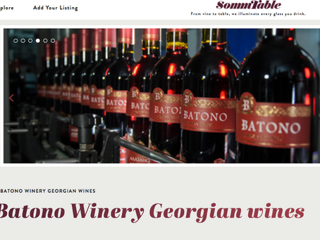 Batono Winery Featured on Sommtable