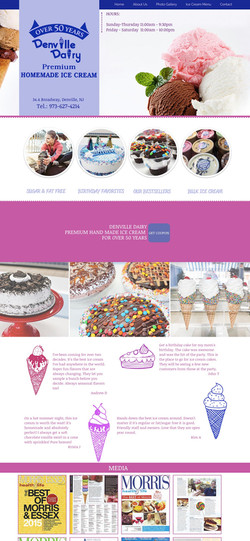 Website Design Denville Dairy