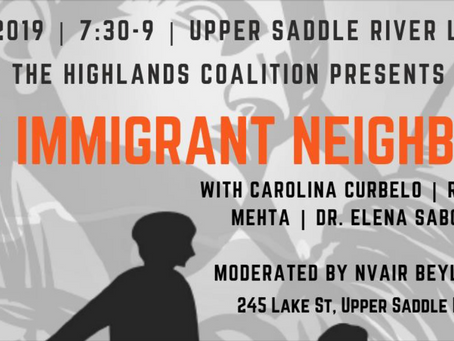 Our Immigrant Neighbors: Immigration and Bergen County