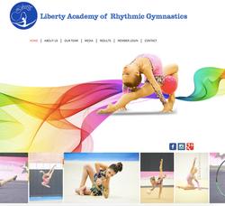 Liberty Rhythmic Gymnastics Website