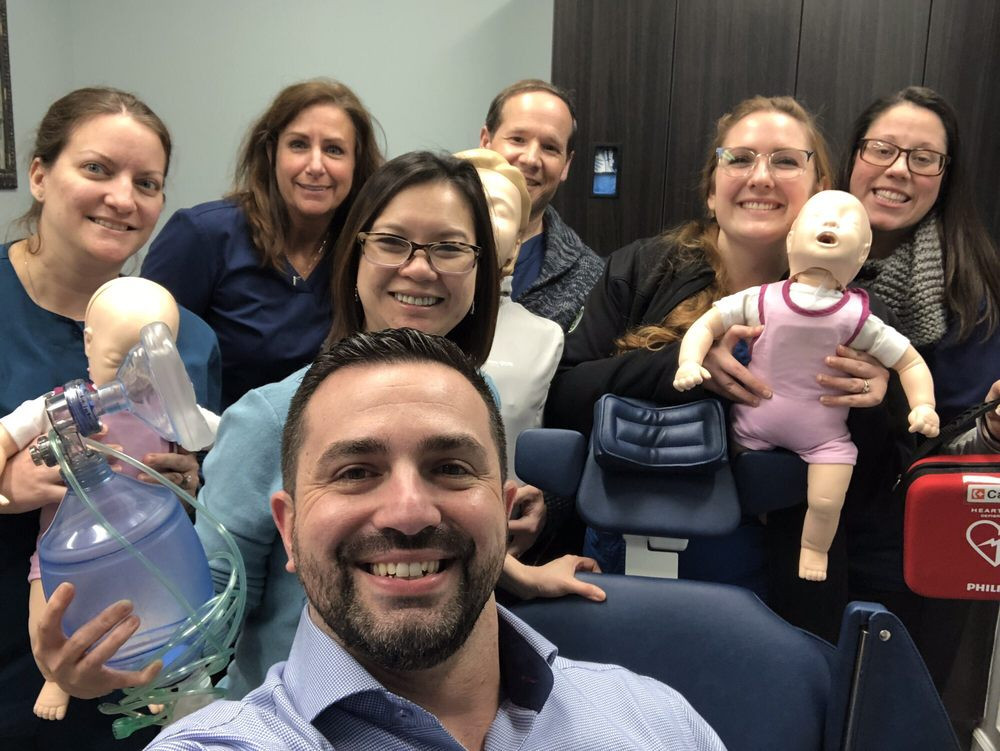 Group CPR Training for Morris Sussex Oral Surgery Associates