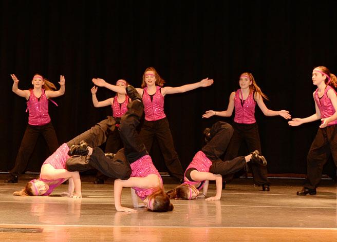 hip-hop dancers, Denville