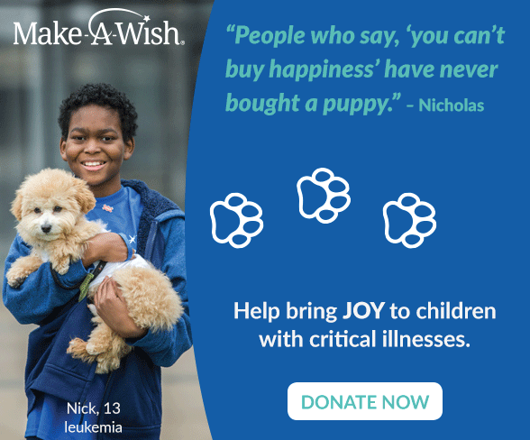 Make-A-Wish Puppy Package
