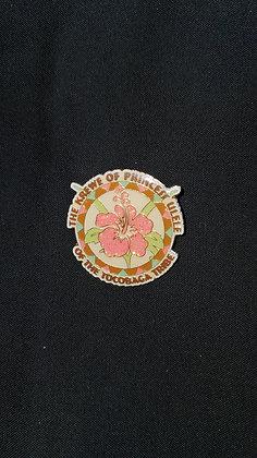 Hibiscus Trading Pin