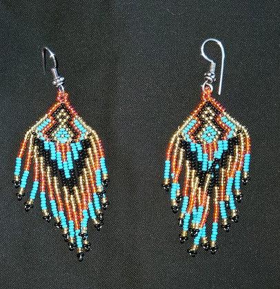 Beaded Earrings (Item K7B)