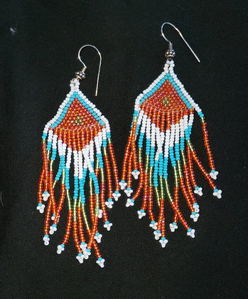 Beaded Earrings (Item K7D)