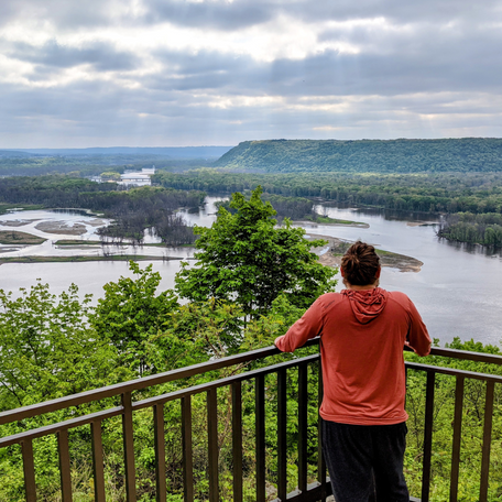 A Camping Weekend on the Mississippi River