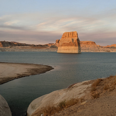 A Camping and Kayaking Weekend in Lake Powell