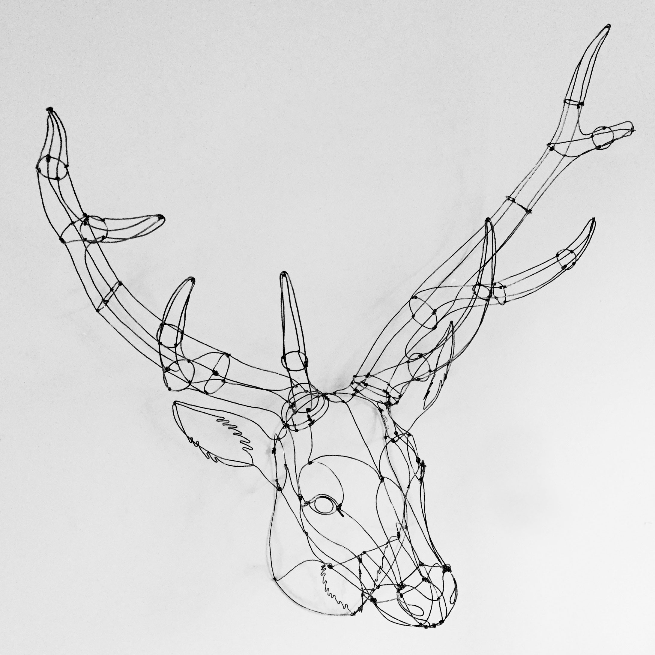 Sculptures En Fil De Fer France Emilie Bredel