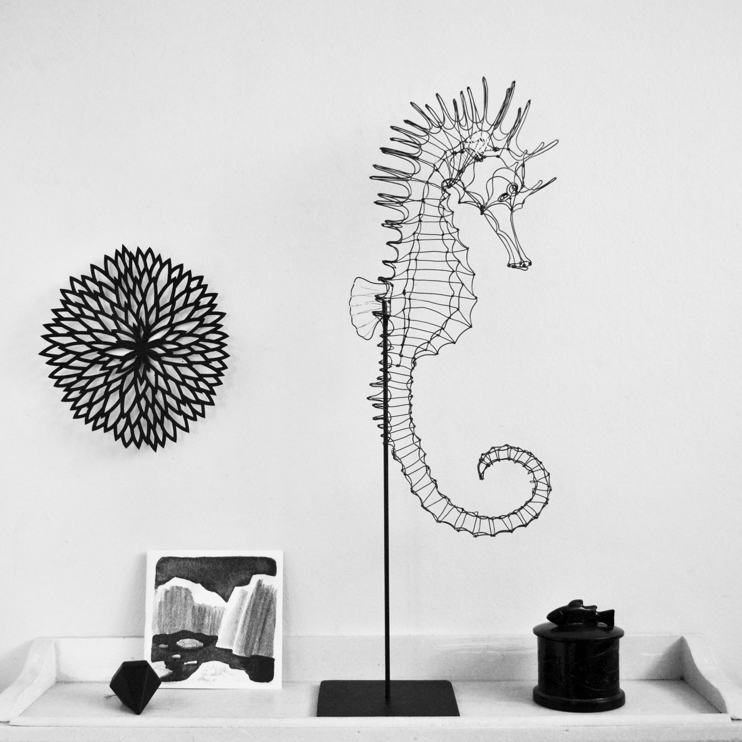 sculptures en fil de fer france emilie bredel. Black Bedroom Furniture Sets. Home Design Ideas